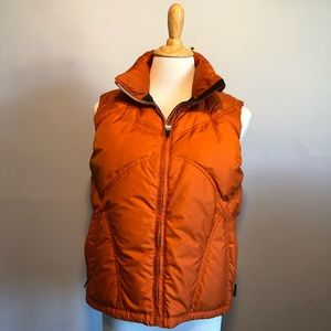 Vintage OBERMEYER-Orange Ski Vest Jacket-Size 4